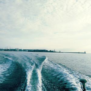 Gdynia_motorowka_kilwater
